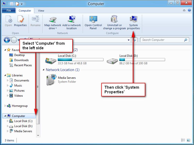 2 - File Explorer Properties