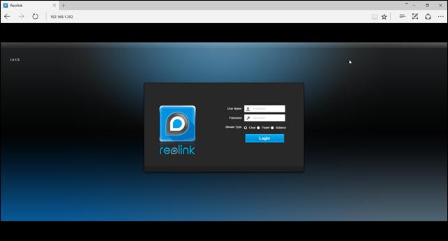 Reolink_HTML5_Login